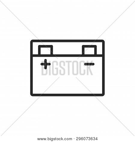 Accumulator Icon Isolated On White Background. Accumulator Icon In Trendy Design Style. Accumulator