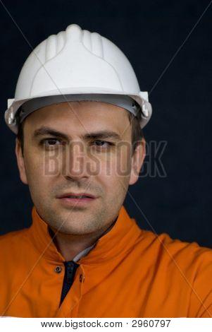 Portrait eines Bergmanns