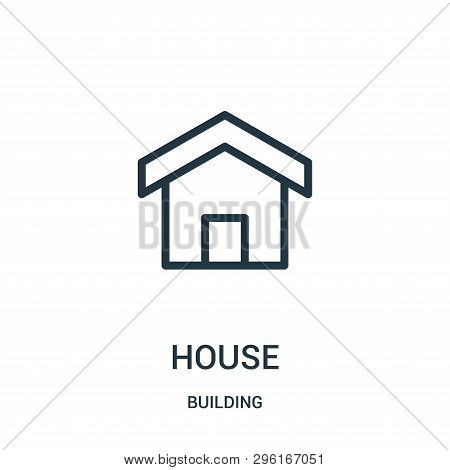 House Icon Isolated On White Background From Building Collection. House Icon Trendy And Modern House