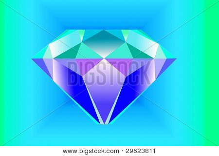 drawing of the diamond