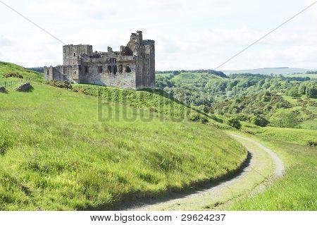 Crighton Castle Ruins, Midlothian