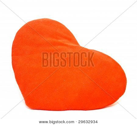 Small pillow red heart