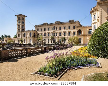 Osborne House, East Cows, Isle Of Wight, United Kingdom, 22 July 2014.- Osborn House Was Completed I