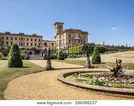 Osborne House, Isle Of Wight, United Kingdom, 22 July 2014. Osborn House Was Completed In 1851 For Q