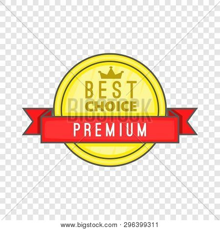 Best Choice Label Icon. Cartoon Illustration Of Best Choice Label Vector Icon For Web