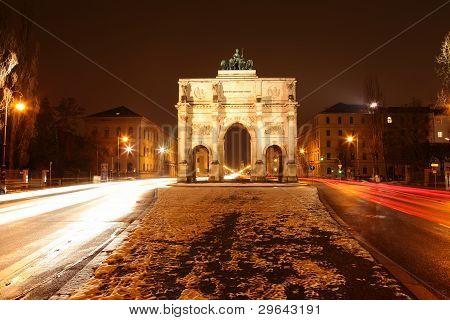 Siegestor (victory gate) Munich