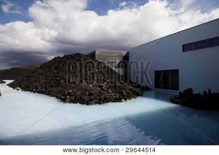 Blue lagune, iceland poster