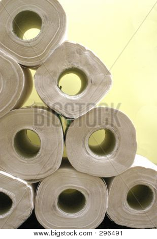 A Stack Of Rolls