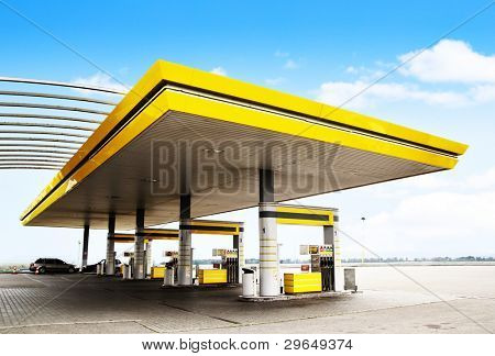 Gas station