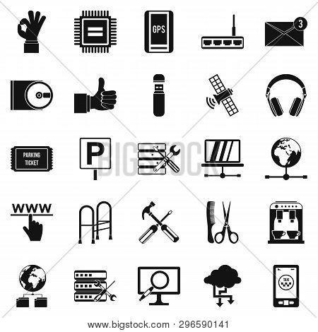 Sustenance Icons Set. Simple Set Of 25 Sustenance Icons For Web Isolated On White Background