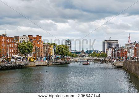 Liffey River, Dublin, Ireland