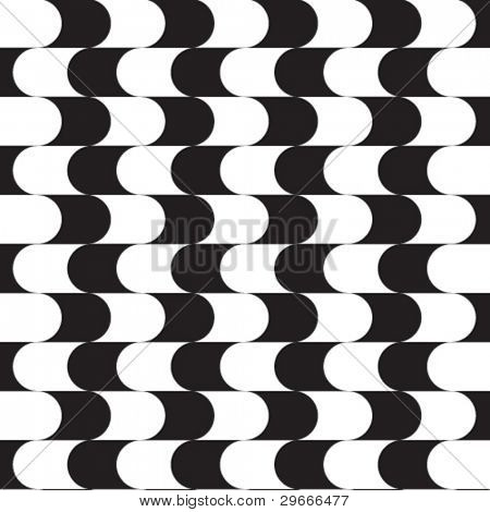 Vector graphical curves seamless background.