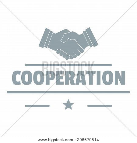 Cooperation Logo. Simple Illustration Of Cooperation Logo For Web