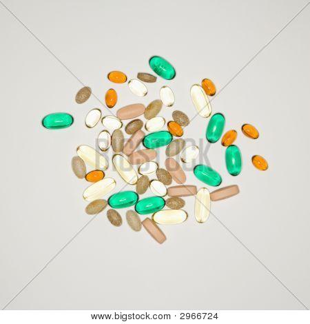 Pills And Vitamins.