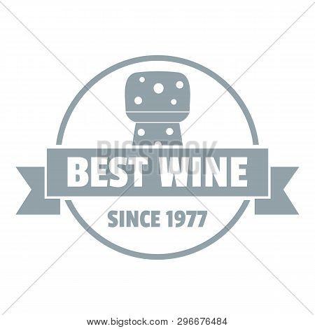 Best Wine Logo. Simple Illustration Of Best Wine Logo For Web