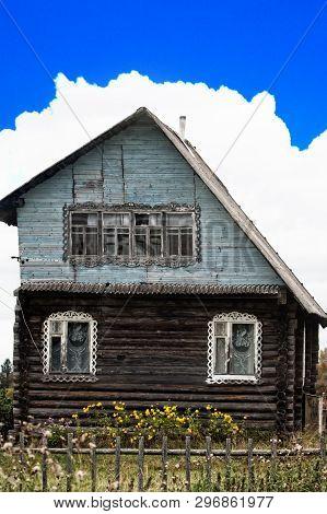 Unusual Russian House.