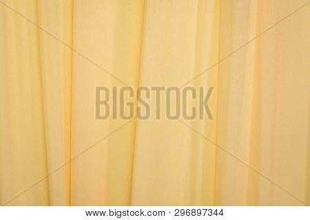 cream crepe paper - background with crinkled texture