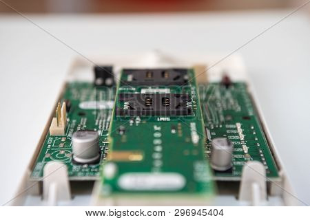 A Beautifull Electronic Components, Relays, Screwdriver, Tape