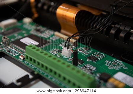 A Electronic Components, A Relays, A Screwdriver, A Tape