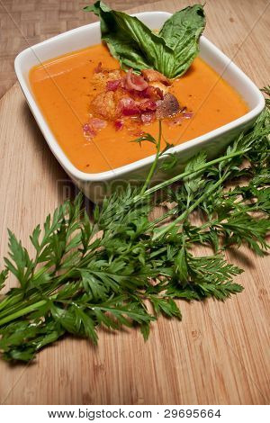 Soup and Parsley