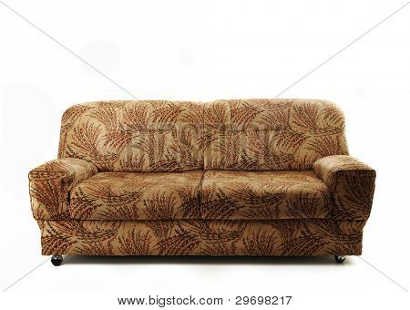 Sofa couch isolated poster