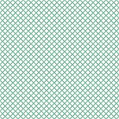 Seamless guilloche pattern squares rhombuses of dots, vector seamless watermark for valuable documents, money tickets, sewn from forgery poster