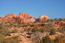 Red Rock Skyline Arch