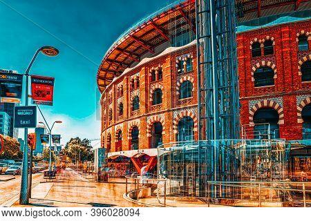 Pura Brasa Arenas De Barcelona With Shopping Centers, Shops, And