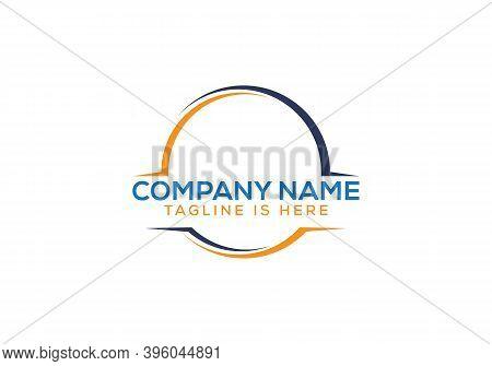 Round Logo Design. Creative Logo. Vector Abstract Circle Swirl Logo Design Elements