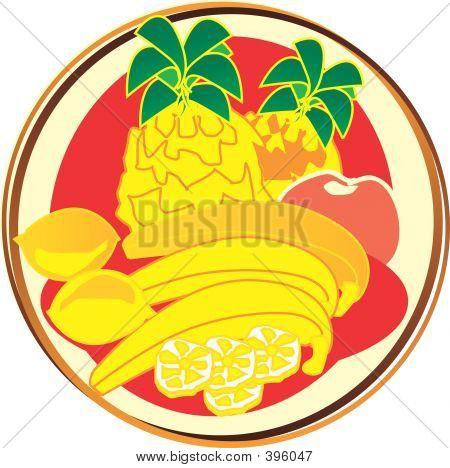 Pictogram - Fruits