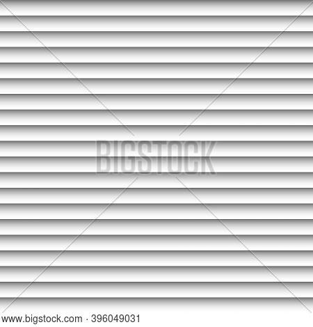 Abstract White Geometric Background With A Gradient, The Vector The Horizontal Strip Window Blinds,
