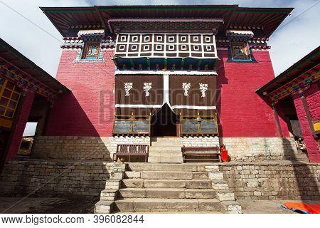 Tengboche Monastery, The Best Monastery In Khumbu Valley, Trek To Everest Base Camp, Sagarmatha Nati