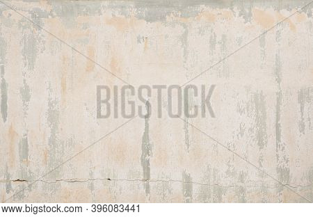 Background And Texture Of Old Painted Vintage Wall