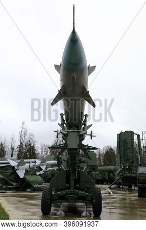 View Of Anti-aircraft Missile Launcher C-75