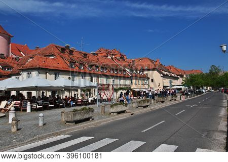 Maribor, Slovenia - 29 Apr 2018: Old Vine House, Maribor, Slovenia