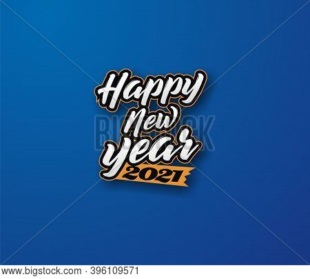 Happy New Year 2021 Vector Free - Design New Year Eve