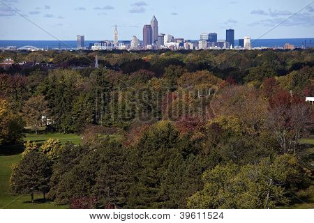 Cleveland - Distant Skyline