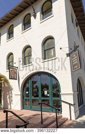 Santa Barbara, Usa - Mar 16, 2019: Ronald Reagans Ranch Center As Cultural Meeting Place In Santa Ba