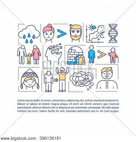 Sad Risk Factors Concept Icon With Text. Mental Health Problems Treatment. Unhappy Life. Ppt Page Ve