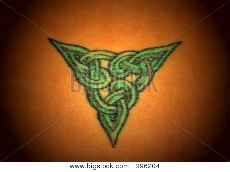 Celtic Tattoo Detail