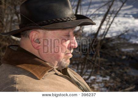 Elderly Man In The Park