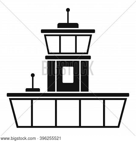 Airport Duty Free Shop Icon. Simple Illustration Of Airport Duty Free Shop Vector Icon For Web Desig