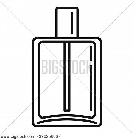 Duty Free Perfume Bottle Icon. Outline Duty Free Perfume Bottle Vector Icon For Web Design Isolated