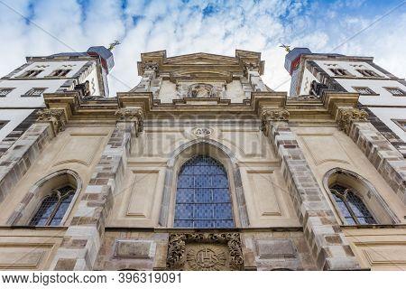 Facade Of The Namen-jesu-kirche Church In Bonn, Germany