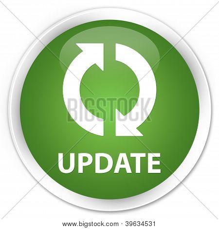 Update Icon Green Button