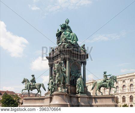 Monument To Austrian Empress Maria Theresa Walburga Amalia Christina (1717-1780), On Maria Theresa S