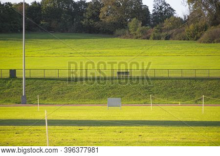 Parliament Hill, An Area Of Open Parkland In Hampstead Heath, London
