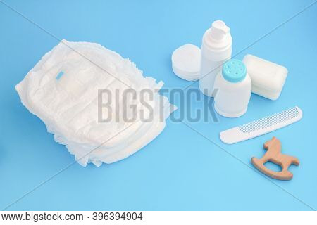Baby Hygiene. Daily Care. Bathing Accessories. Disposable Nappy, Cream And Soap. Powder, Teether And