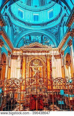 Inside Metropolitan Cathedral–basilica Of The Assumption Of Ou