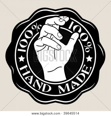 100% Hand Made Seal / Badge